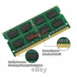 10pcs Lot for 4GB DDR3 PC3-10600S 1333Mhz 204PIN 1.5V SODIMM Laptop Memory RAM