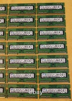 112GB (28x4GB) Samsung DDR3L 1600MHz PC3L-12800 Laptop Memory RAM SODIMM 204pin