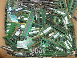 11lbs. Scrap Computer Server Memory Laptop Ram For Gold Recovery