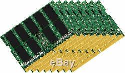 128GB (8x16GB) Memory PC4-17000 SODIMM For LAPTOP PC DDR4-2133MHz