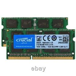 16GB 32GB für DDR3L-1600 MHz PC3L-12800S 204PIN 1.35V SODIMM Laptop Memory Ram