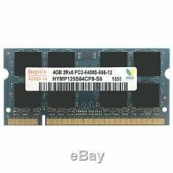16GB 8G 4G PC2-6400 DDR2-800MHz 200Pin SODIMM Laptop Memory RAM For Hynix Lot UK