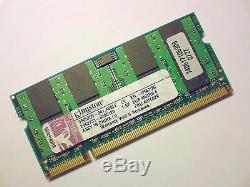 2GB DDR2-667 PC2-5300 200pin KINGSTON LAPTOP KTL-TP667/2G SODIMM RAM MEMORY