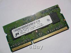2GB DDR3-1066 PC3-8500 MICRON 1066 Mhz LAPTOP SODIMM RAM MEMORY SPEICHER