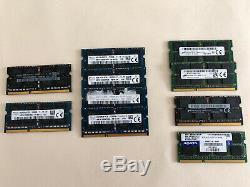 2x 8GB DDR3 PC3-12800s, And x 8x 8GB DDR3 Pc3L-12800s Laptop Memory, RAM