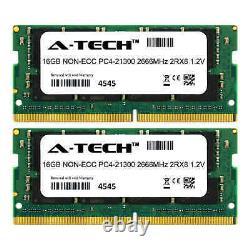 32GB 2x 16GB DDR4 2666 Laptop Memory RAM for DELL LATITUDE 7480 7490 E7480 E7490