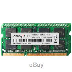 32GB 4x8GB DDR3L-1600 PC3L-12800S 204Pin SO-DIMM Laptop Notebook Memory RAM