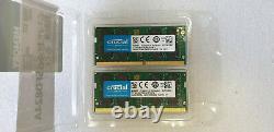 32GB Crucial 2x 16GB DDR4 DDR4-2400 PC4-19200 SO-DIMM Laptop Memory RAM cl17 1.2