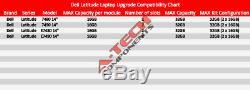 32GB Kit (2 x 16GB) for Dell Latitude 7480 7490 E7480 E7490 Laptops Memory Ram