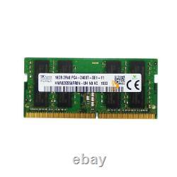 32GB SK Hynix 2X 16GB 2RX8 DDR4-2400T PC4-19200S CL17 SODIMM Laptop Memory RAM $