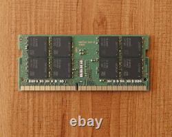 32GB Samsung PC4-3200AA Laptop Memory RAM 260-pin DDR4 3200MHz SODIMM 1.2V 3200