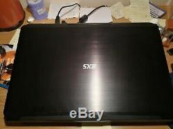 3XS 17Intel I7, 8GB memory video card, 16 Gb Ram laptop