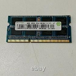 40GB JOBLOT OF 10 X 4GB DDR3 PC3 PC3L STICKS Laptop SODIMM RAM Memory 204-Pin