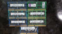 40gb 10pcs 4GB Laptop/Notebook DDR3 PC3-10600S, PC3-12800S SODIMM RAM MEMORY