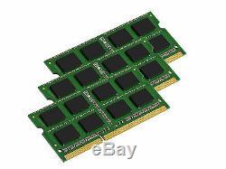 48GB (3x16GB) Memory PC3-12800 SODIMM For Laptop DDR3-1600MHz RAM