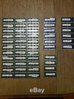 49 modules 8 GB 2rx8 DDR3L 1600mhz PC3L-12800S SODIMM 204pin Laptop Memory RAM