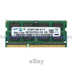 4GB 8GB 16GB DDR3 1333MHz PC3-10600 204pin SODIMM Laptop Memory notebook ram lot