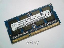 4GB DDR3-1333 PC3-10600 SK Hynix HMT351S6CFR8C-H9 1333Mhz LAPTOP RAM MEMORY