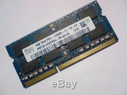 4GB DDR3-1600 PC3-12800 1600Mhz HYNIX HMT351S6EFR8C-PB LAPTOP RAM MEMORY