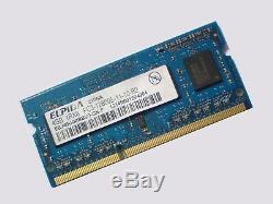4GB DDR3-1600 PC3-12800 ELPIDA EBJ40UG8BBU0-GN-F 1600Mhz LAPTOP RAM Memory