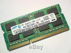 4GB DDR3L-1600 PC3L-12800 1600Mhz SAMSUNG M471B5273CH0-YK0 LAPTOP RAM MEMORY