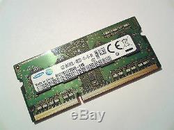 4GB DDR3L-1600 PC3L-12800 SAMSUNG M471B5173DB0-YK0 1600 Mhz LAPTOP RAM MEMORY