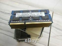 55 sticks 220gb (55 X 4GB) LAPTOP MEMORY RAM DDR3 PC3-12800S HYNIX ETC BRANDS