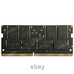 64GB 4X16GB DDR4-2400MHz PC4-2400T 260Pin 1.2V CL17 Laptop SO-DIMM Memory RAM