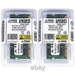 8GB 2 x 4GB DDR2 Laptop Modules 5300 667 Notebook 200 pin 200-pin Memory Ram Lot