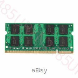 8GB 2x 4GB PC2-6400 DDR2-800MHz 200Pin SODIMM Notebook Memory RAM For Crucial UK