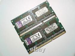 8GB 2x4GB DDR3-1600 PC3-12800 KINGSTON 1600Mhz LAPTOP MEMORY RAM ARBEITSSPEICHER