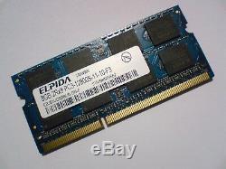PC3-12800S-DDR3-1600MHz-204pin SODIMM Laptop Memory RAM For Elpida 8GB DDR3