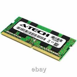 A-Tech 32GB 2 x 16GB PC4-19200 Laptop SODIMM DDR4 2400 MHz 2Rx8 Memory RAM 32G