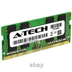 A-Tech 64GB 2x 32GB DDR4 2666 MHz PC4-21300 Laptop SODIMM 2Rx8 Memory RAM 32 64G