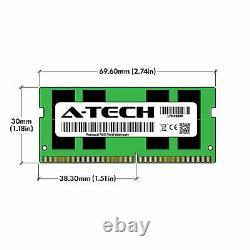 A-Tech 64GB Kit 2x 32GB PC4-25600 Laptop SODIMM DDR4 3200 MHz 260-Pin Memory RAM