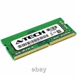 A-Tech 64GB Kit 4x 16GB PC4-19200 Laptop SODIMM DDR4 2400 MHz Non-ECC Memory RAM
