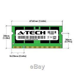 A-Tech 8GB 2 x 4GB PC2-6400 Laptop SODIMM DDR2 800 MHz Notebook Memory RAM 4G 8G