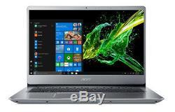 Acer Swift 3 SF314-54 256GB M2 Nvme SSD 4GB Ram Memory on board Win 10 64Bit