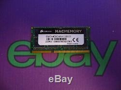 Corsair 4GB 1 X 4GB PC3 1333 DDR3 10600 Sodimm Mac Laptop RAM Memory 4096MB