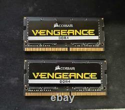 Corsair Vengeance 64gb (32x2) Ddr4 Sodimm Laptop Ram Memory 2666 Cl18 Sdram