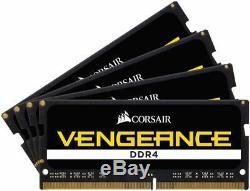 Corsair Vengence 64GB (4x16GB) DDR4 2666MHz C18 RAM Laptop Memory