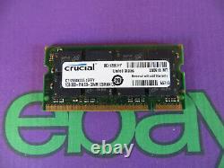 Crucial 1GB PC-2700 DDR-333 So-Dimm Laptop RAM Memory Module CT12864X335.16FFY