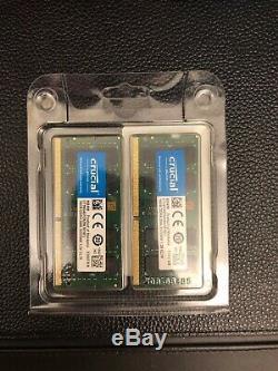 Crucial 32GB (16GB x 2) DDR4 2666MHz SODIMM Laptop RAM Memory