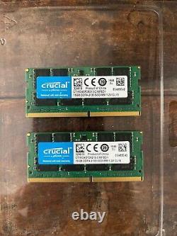 Crucial 32GB (2x16GB) DDR4 2133 SODIMM Laptop Memory RAM