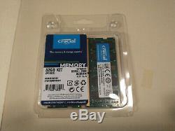 Crucial 32GB DDR4-2666 Kit 2x16GB SODIMM RAM Laptop Memory CT2K16G4SFD8266