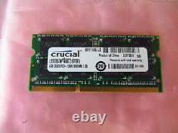 Crucial 4GB PC3 12800 1600 DDR3 Sodimm Laptop RAM Memory 4096MB Single Stick
