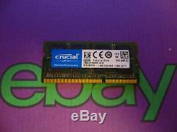Crucial 8GB 1 X 8GB PC3L 1600 DDR3L Sodimm Mac Laptop RAM Memory 8192MB