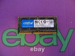 Crucial Apple 8GB Stick PC3L 10600 1333 DDR3L Sodimm Laptop RAM Memory