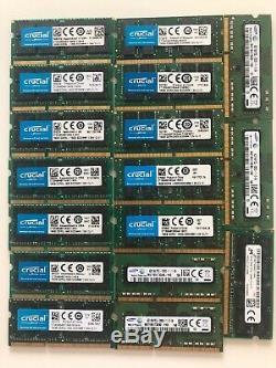 Crucial DDR4 DDR3 16GB / Laptop RAM Memory Job lot