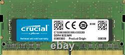 Crucial SODIMM 32GB DDR4 3200Mhz PC4-25600 CL22 CT32G4SFD832A Laptop RAM Memory